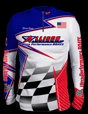 Allison Sublimated Jersey - front