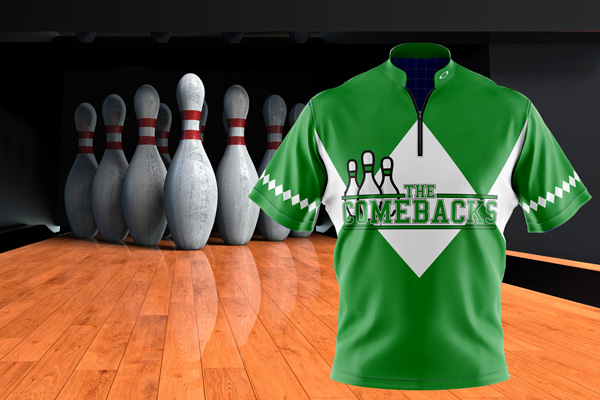 E3 Dye Sublimation Bowling Jerseys