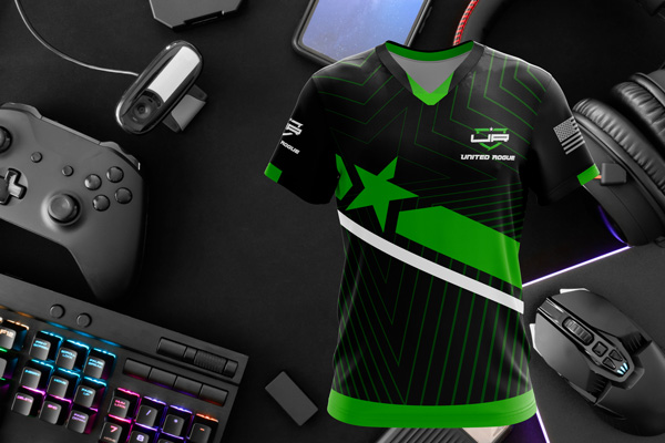 E3 Dye Sublimation Esports Jerseys