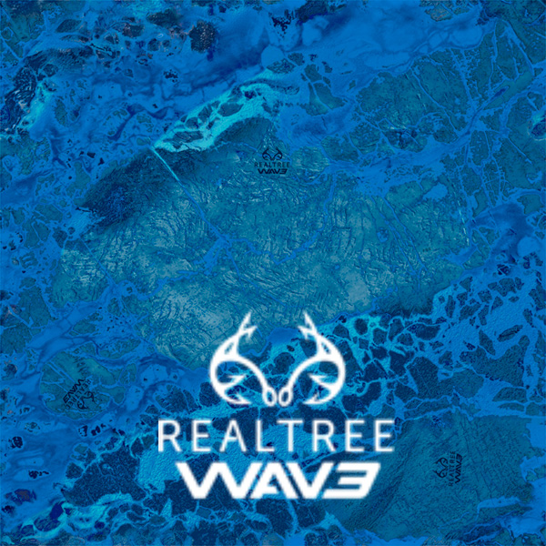 E3 Dye Sublimation Realtree WAV3 Camo