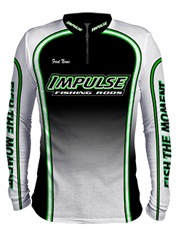 Impulse Sublimated  Fishing Jersey - front