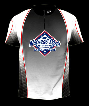 NSKF Sublimated Jersey -  ss front